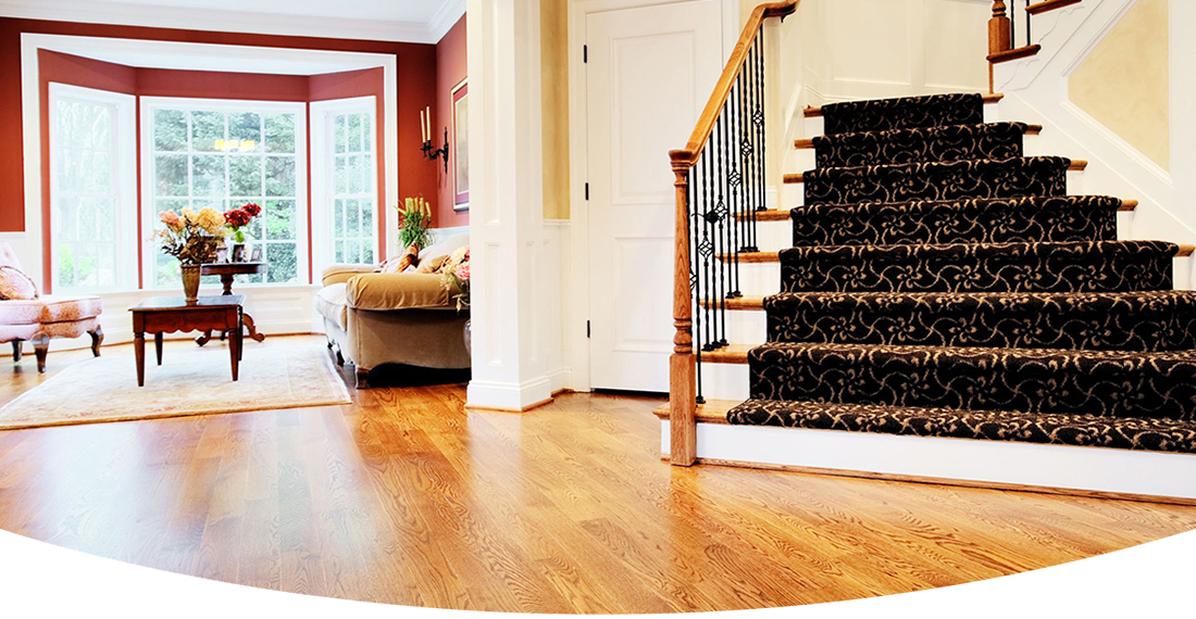 installation and finishing of hardwood and parquet floors